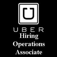 Uber Hiring Operations Associate