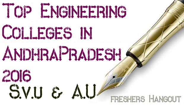 Top Engineering Colleges in Andhra Pradesh