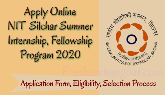 NIT Silchar Summer Internship 2020