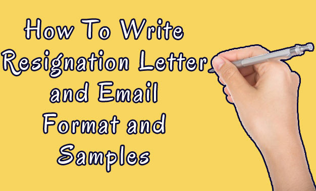 How to Write Resignation Letter and Email